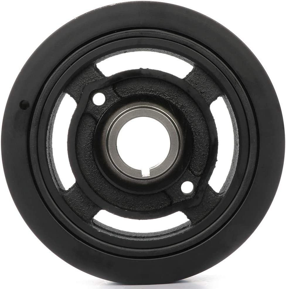 TUPARTS 134700H010 594-198 Crankshaft Pulley Replacement for 2005-2007 2010 S-cion tC 2008-2015 S-cion xB 2002-2009 T-oyota Camry 2009-2013 T-oyota Corolla 2001-2007 T-oyota Highlander