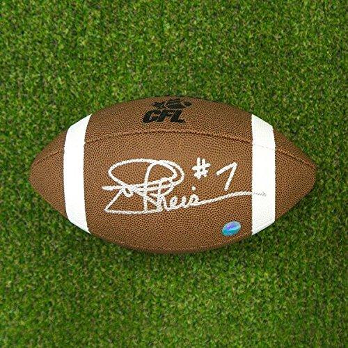 Joe Theismann Autographed CFL Wilson Composite Football - Toronto Argonauts A.J. Sports World