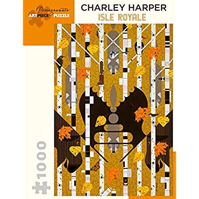 Charley Harper - Isle Royale 1000 Piece Jigsaw Puzzle 20 x 29in: Toys & Games [5Bkhe0306953]
