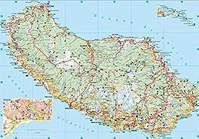 Madeira, plano de carreteras de bolsillo plastificado. Escala 1:75.000. Freytag & Berndt.: Toeristische wegenkaart 1:75 000 Auto karte: Amazon.es: VV.AA.: Libros