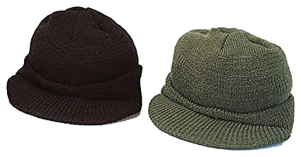 Amazon.com  Rothco Wool O D Jeep Cap  Sports   Outdoors ca005a0313e