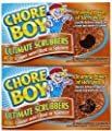 Chore Boy Copper Scouring Pad - 2 ct - 2 pk