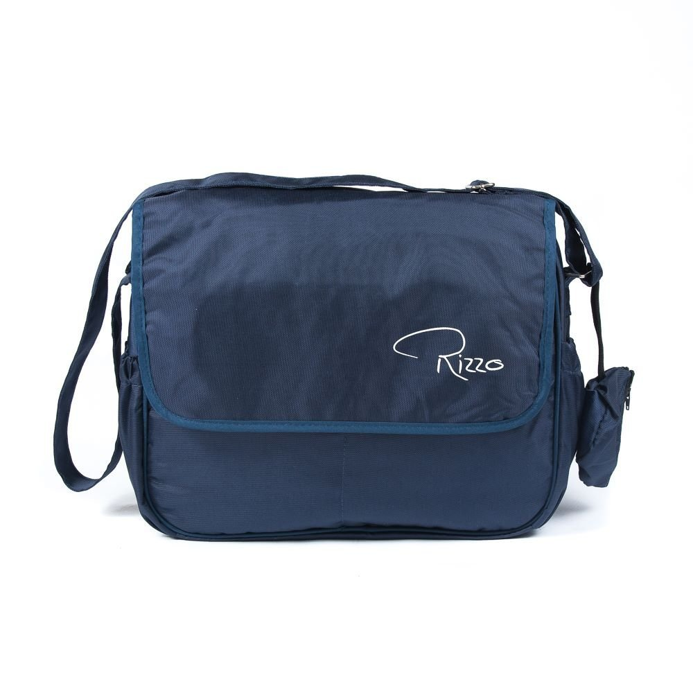Roma Rizzo Changing Bag in Grey Includes Ziplock Bag and Handy Soother//Dummy Purse