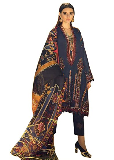 beac4fc3897 UFW Pakistani Pure Japan Satin Digital Print With Embroidery