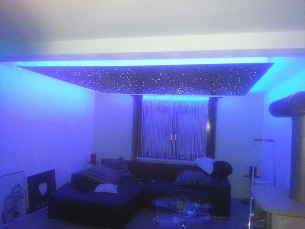 LED Sternenhimmel Set Glasfaser Optik, in weiß oder bunt, 240 ...