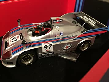 Porsche 908/3 Turbo Martini Slot Car Colección Flying Again: Amazon.es: Juguetes y juegos