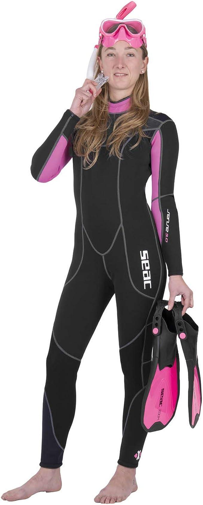 Seac Sense Short Neoprene 3 mm Muta Corta da Donna per Snorkeling e Subacquea