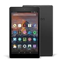 Fire HD 8 reacondicionado certificado, pantalla de 8'' (20,3 cm), 16 GB (Negro) - Incluye ofertas especiales