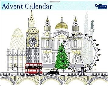 Calendrier De Lavent Cm.Caltime Traditionnel London City Monuments Calendrier De L