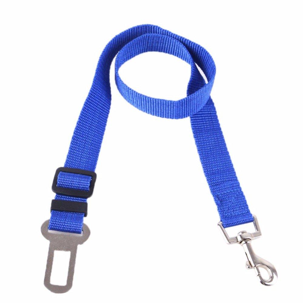 Automotive Retractable Vehicle Mounted Dog Leash B82201 Flexible Titanium Adjustable Button Design Pet Safety Belt