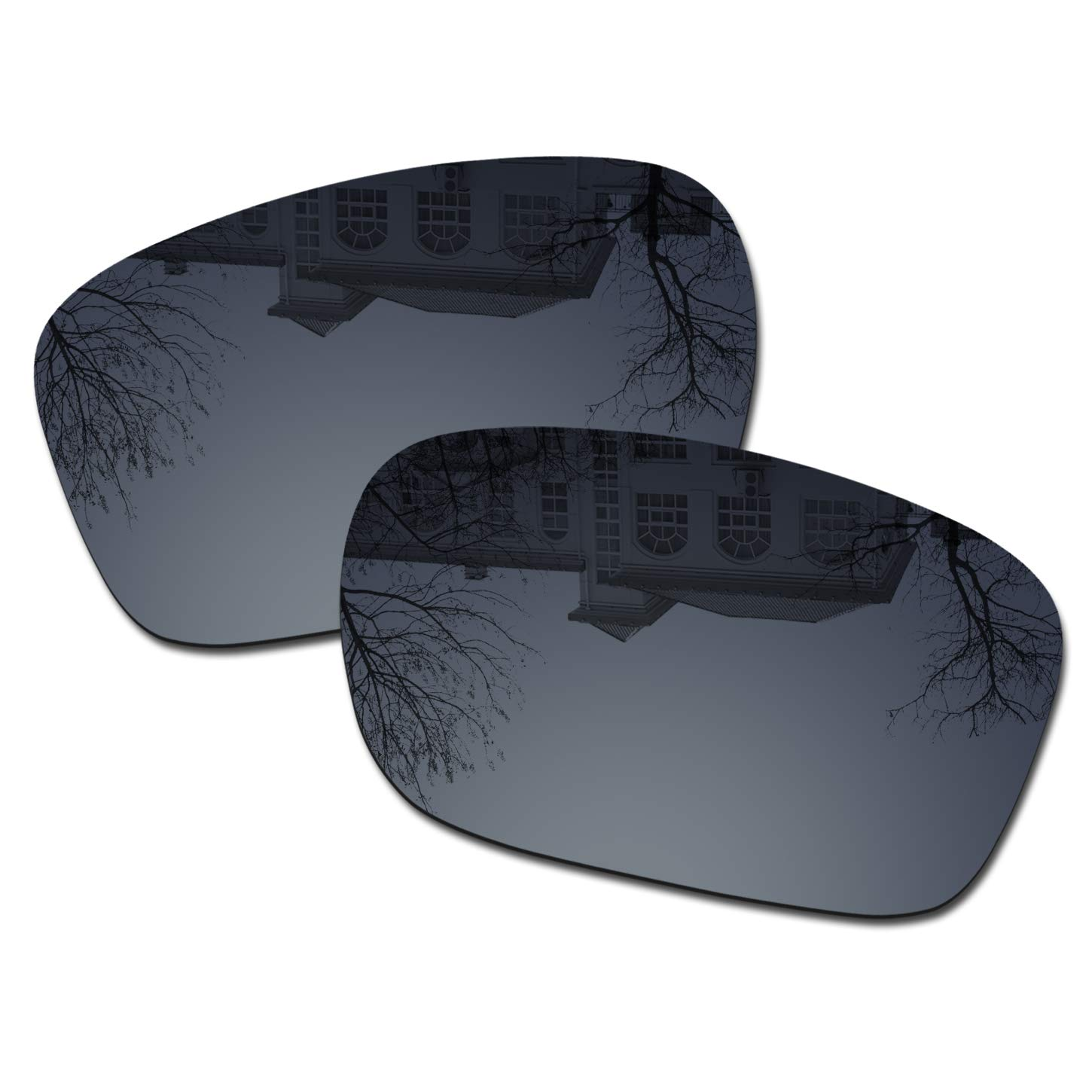Millersawp Holbrook OO9102 Replacement Lenses Compatiable with Oakley Sunglass-Black Iridium by Millersawp