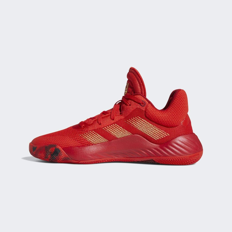 adidas D.o.n.ssue #1 Basketballschuh für Herren Rot Power Rot Gold Metallic