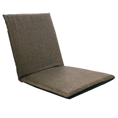 Amazon.com: Silla plegable de suelo para oficina interior y ...