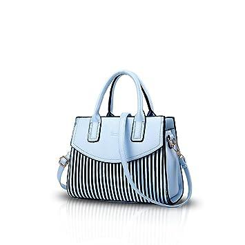 75d464d93bf47 Buy NICOLE&DORIS New Women/Ladies Fashion Handbag Messenger Shoulder Purse  Tote Casual Work Bag Hot Sale Light Blue Online at Low Prices in India -  Amazon. ...