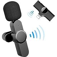 Micrófono de solapa inalámbrico Plug-Play, micrófono de clip inalámbrico para iPhone iPad, micrófono de sincronización…