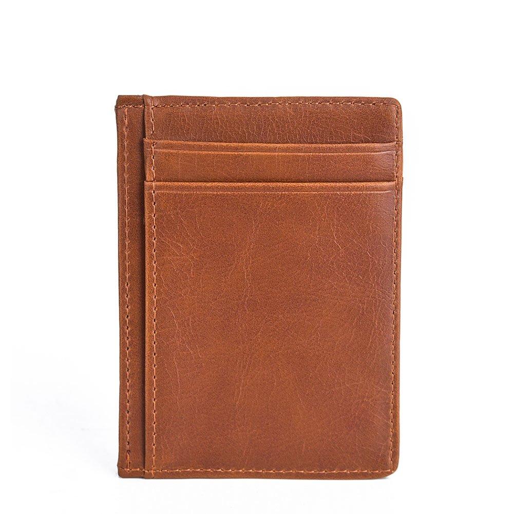 Credit Card Holder ID Card Mini Wallet for Men Women Foviza Zipper Coin Bag Hand Pocket Case
