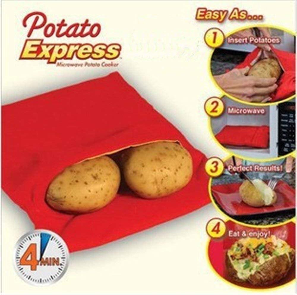 Amazon.com: EXPRESS – de patata Microondas Cocina De Patata ...