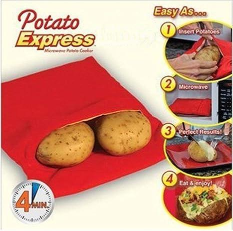Potato Express Microwave Potato Cooker