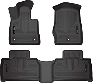 Husky Liners Fits 2020 Ford Explorer Weatherbeater Front & 2nd Seat Floor Mats