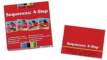 amazon com colorcards sequences 4 step color cards health