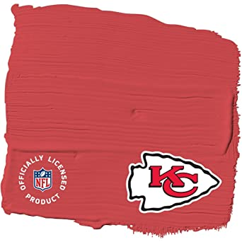 NFL Paint Color   Kansas City Chiefs KC Dark RED PPG1188 7/04,