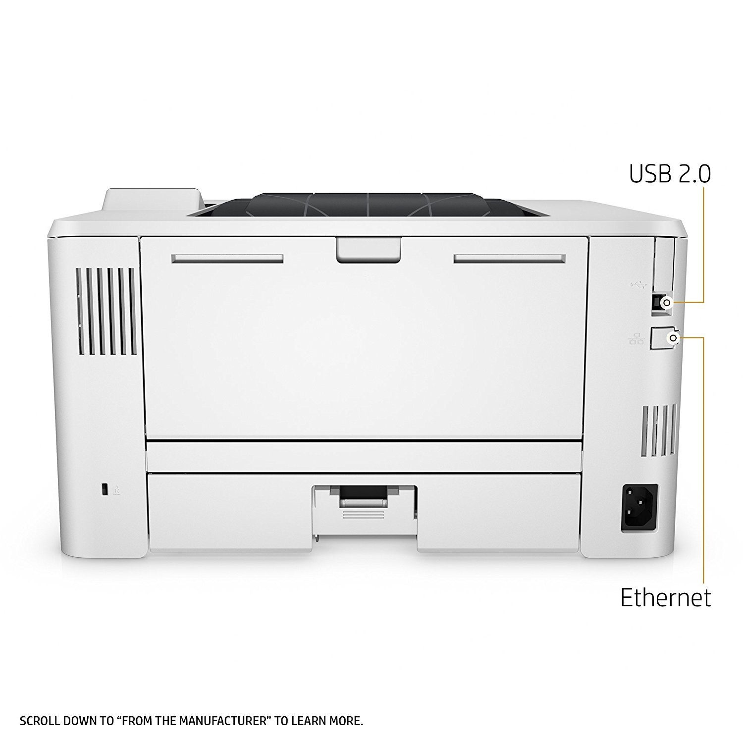 HP LaserJet Pro M402dn Laser Printer with Built-in Ethernet & Double-Sided Printing, Amazon Dash Replenishment ready (C5F94A) by HP (Image #8)
