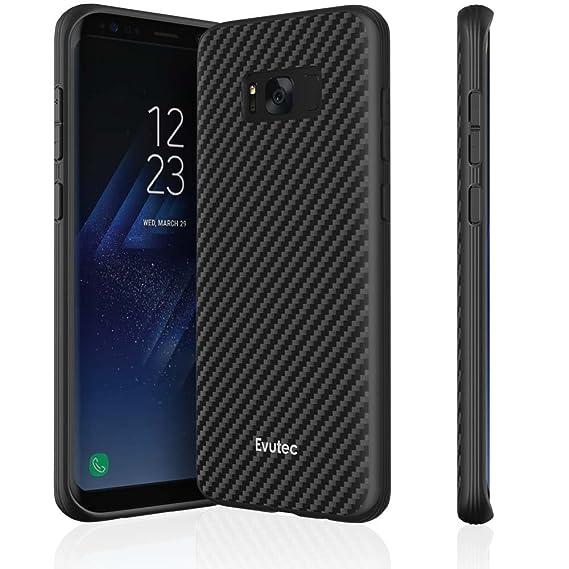 premium selection 8d6f6 59277 Evutec AER Karbon Series Case for Samsung Galaxy S8+ - Black