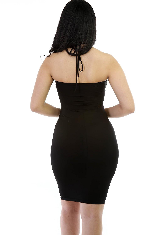 041862d48f Amazon.com  GITI ONLINE Passion Tied Up Bodycon Dress  Clothing