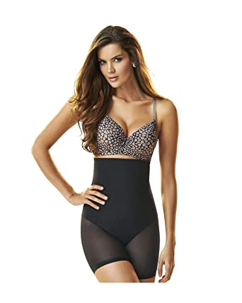 1fcd60df716 Leonisa Women s Truly Invisible Hi-Waist Control Short at Amazon Women s  Clothing store