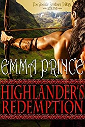 Highlander's Redemption (The Sinclair Brothers Trilogy, Book 2)