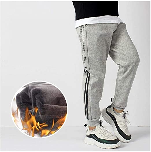 SUIWO Pantalones de fitness para niño Pantalones con cordón ...