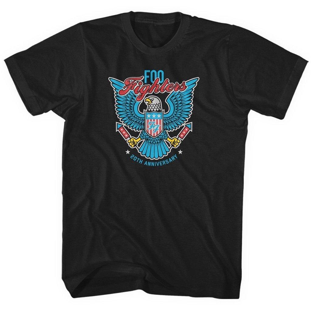 Foo Fighters 20th Anniversay Adult Tshirt