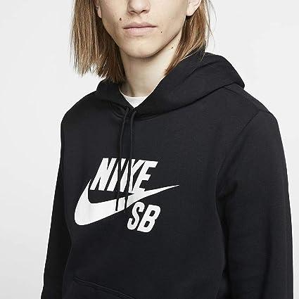 Nike M NK SB Icon Hoodie Po Essnl Sweat Shirt Homme