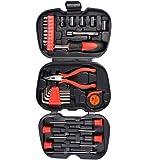 Visko ST9003 3 Folded Mini Tool Case (Black, 31-Pieces)