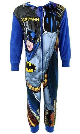 16870dd03a49d Batman garçon Officiel Combinaison pour Femme Grenouillère Barboteuse –  Plusieurs Styles et Tailles Disponibles - Bleu
