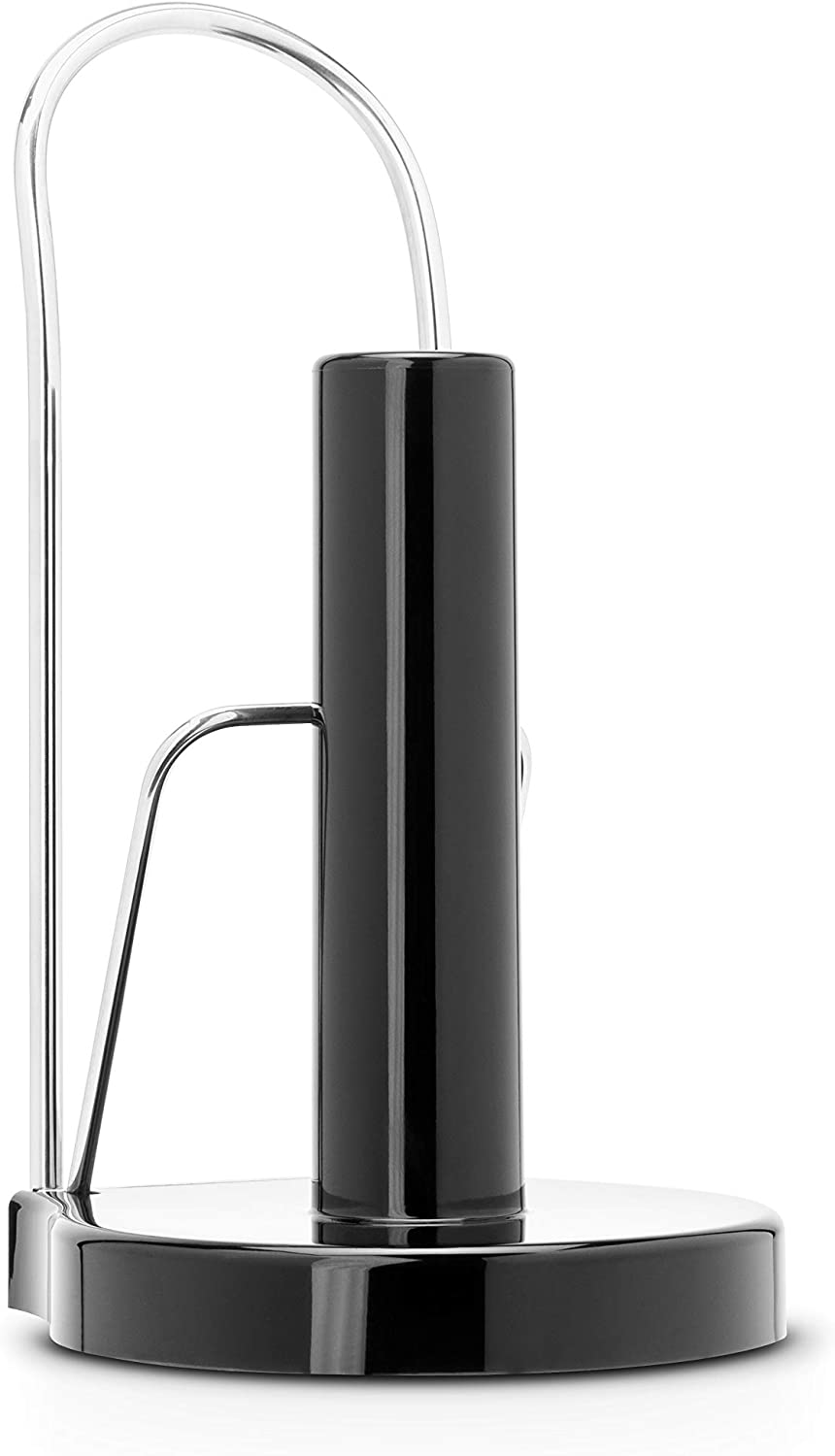 Brabantia Kitchen Roll Holder – Free Standing - Black