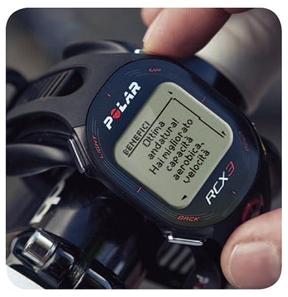 Pack Polar RCX3M Bike - Reloj con pulsómetro para bicicleta, color ...