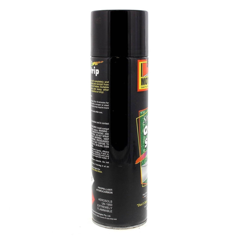Quick Strip Spray On Spray Can 400g Motospray Remove Paint Varnishe