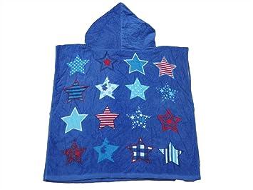 GYwink Lavar la Toalla Impresión de Dibujos Animados bebé (Pentagram) Toalla con Capucha con Capucha Toalla de baño Lindo Toalla para niños (Azul) Toallita ...