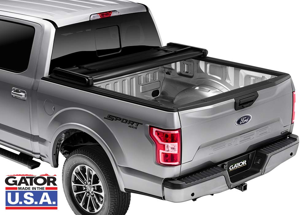 Made in The USA Gator ETX Soft Tri-Fold Truck Bed Tonneau Cover fits Ford Super Duty 2017-19 8 ft Bed 59316