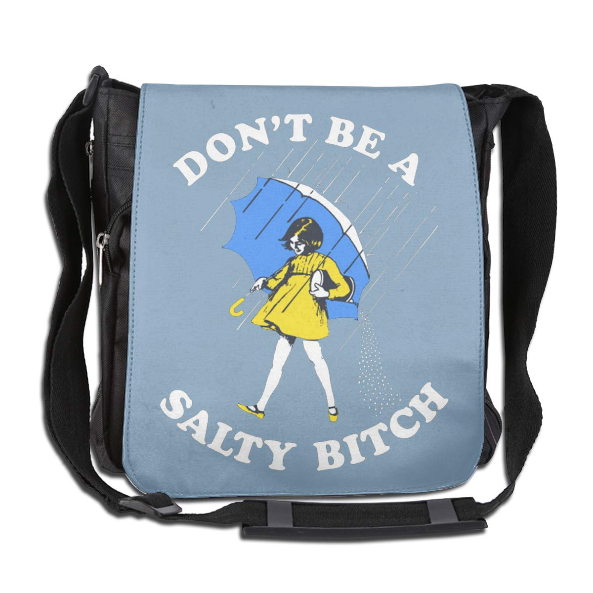 Dont Be A Salty Bitch Fashion Diagonal Single Shoulder Workout Bag