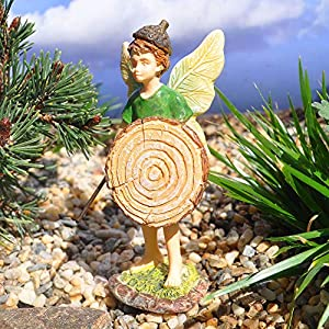 Woodland Knolls Mg218 Fairy Boy With Shield