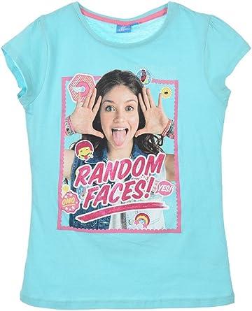 Girls Disney SOY LUNA Cotton Short Sleeves T.Shirt Tops