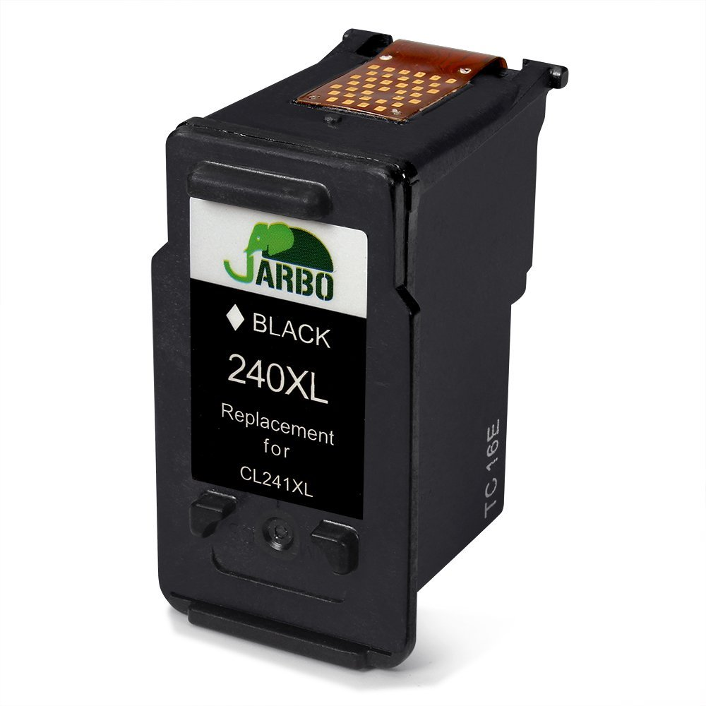 Amazon JARBO Remanufactured For Canon PG 240XL CL 241XL Ink Cartridges 1 Black Tri Color Compatible With PIXMA MG3620 MG3520 MG2220 MG3220