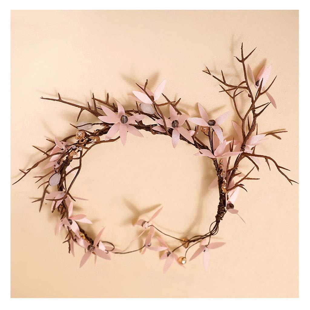 Wreath Flower Bride Flower Headdress Hair Accessories Wedding Party Accessories Mori Studio Styling Jewelry
