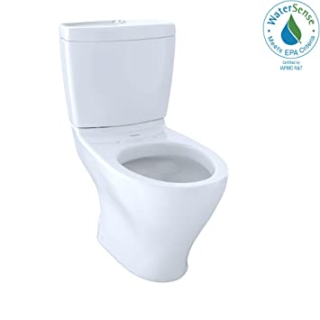 Toto Cst412mf01 Aquia Dual Flush Elongated Two Piece Toilet 16gpf