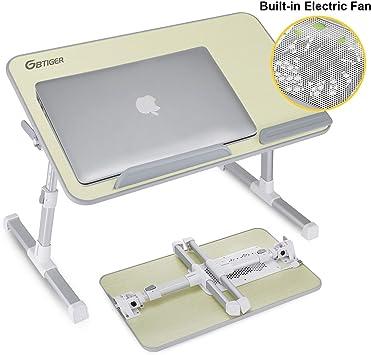 GBtiger Mesa de Cama PC, Base de refrigeración/Apoyo para PC ...