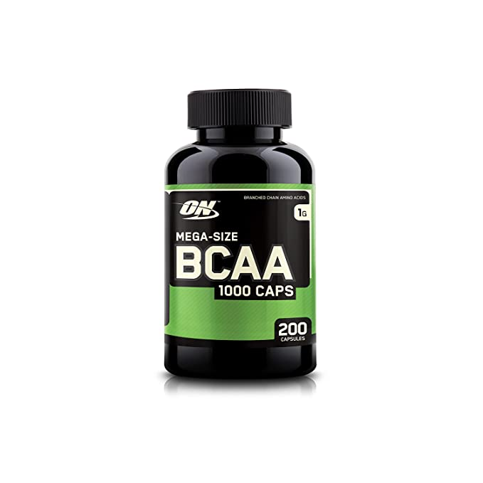 Optimum Nutrition  ON  BCAA Branched Chain Amino Acids 1000 mg   200 Capsules