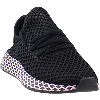 detailed look ff070 fc2ba adidas Originals Deerupt Runner Shoe Women s, Black Black-Clear Lilac, Size  6.0