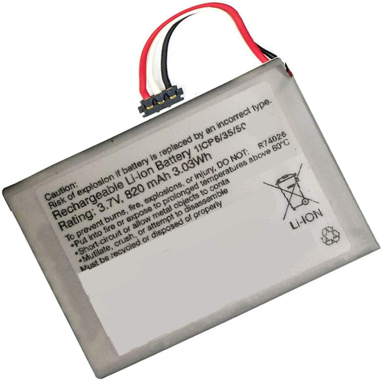 Backupower 361-00056-21 - Batería de repuesto para Garmin DriveAssist 50LMT-D/DriveLuxe 50LMT-D 010-01531-00 361-00056-21 (3,7 V, 3,03 Wh, 820 mAh)